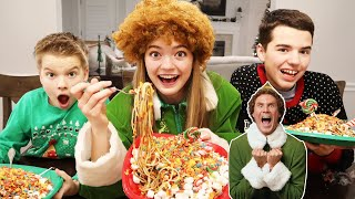 Buddy The Elf Spaghetti Challenge