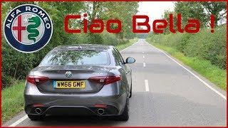 Alfa Giulia Speciale - Why Buy A German Saloon ?!