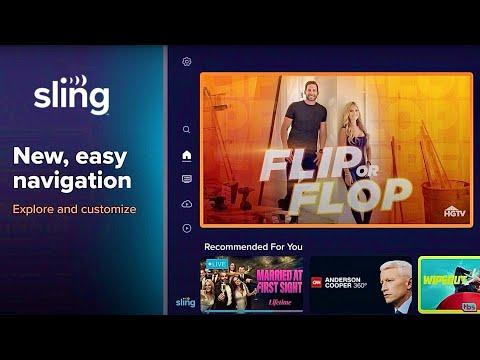 SLING TV App Redesign Tutorial