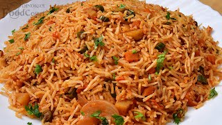 Simple & Tasty Masala Rice/ Veg Masala Rice/ Lunch Box Recipe.