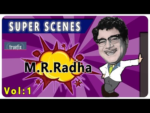 M R RADHA BEST SCENES | tamil movie super scenes | MGR | TRUEFIX STUDIOS