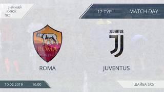 Roma 6:6 Juventus, 12 тур