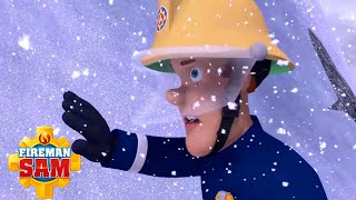 Dashing through the Snow! | Fireman Sam US ❄️ Ultimate Snow Rescue! | Cartoons for Kids