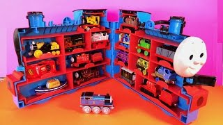 18 Thomas And Friends Die Cast N Wooden Toy Trains, Disney Cars In  Case Like Surprise Eggs