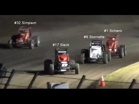 Joe Hunt Magnetos Wingless Series MAIN 4-12-15 Calistoga Speedway