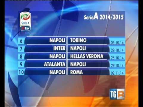 NAPOLI CALCIO - CALENDARIO SERIE A 2014-15
