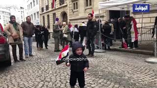طفل مصري يشارك في الانتخابات الرئاسية في باريس