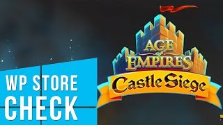 WP Store Check - Age Of Empires: Castle Siege
