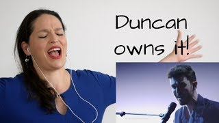 Reaction to Duncan, winner Eurovision 2019, by an opera singer