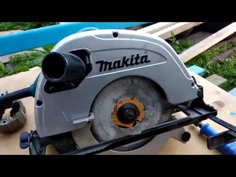 Дисковая пила Makita 5704R ремонт.