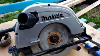 Дисковая пила Makita 5704R жөндеу.