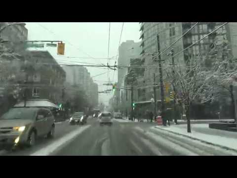 Downtown,Vancouver,BC,Canada:Richards St To Davie St