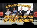 Understanding UT without Legislature    Experts of Ladakh debates    Part -1.