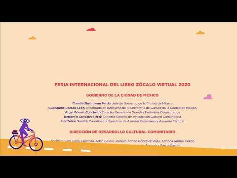 """FIL Zócalo Virtual 2020 """"Programación Infantil"""" 18 de Octubre"""