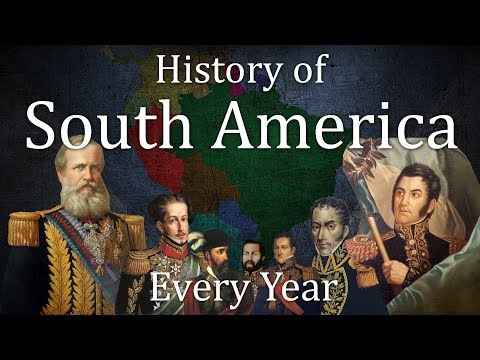 History of South America : Every Year