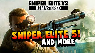 SNIPER ELITE V2 REMASTERED COMING SOON TO PC / XBOX / PS4! + SNIPER ELITE 5 / VR / SWITCH