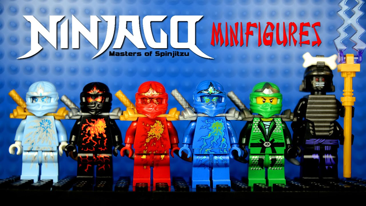 Lego Ninjago Nrg Full Potential Knockoff Minifigures Set 6