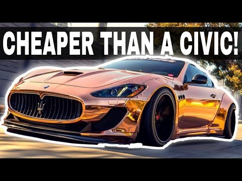 7 Cheap SUPERCARS You Should Buy TODAY