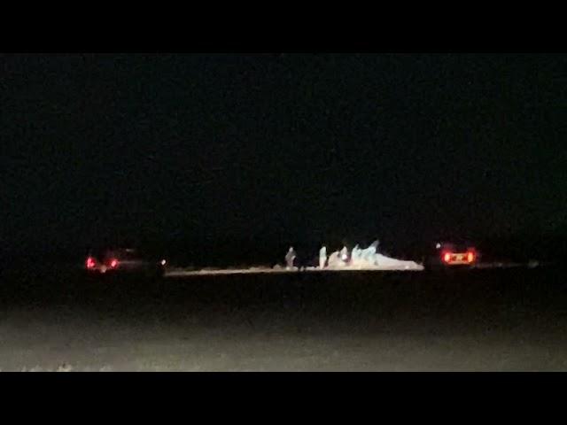 UPDATE: Scene of Accident, UND Aviation Student Dies