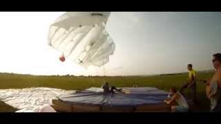Skydive Perm. Прыжки с парашютом в Перми. Прыжки на точность приземления 2014 г.