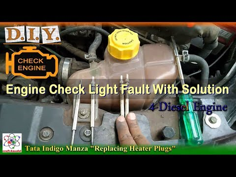 Engine Check Light Fault And Solution For Diesel Engine