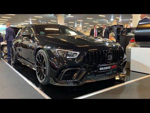 BRABUS  800 Mercedes AMG GT 4 Door Coupe - 800 HP beast (World Premiere in Monaco)