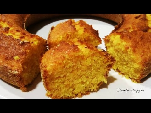 Bizcocho de Zanahoria - Torta de Zanahoria