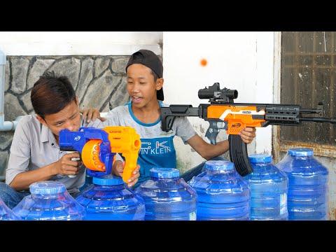 NERF GUN SNIPER GUN BATTLE SHOT 2
