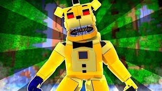 Golden Freddy Survival Island ?!   Minecraft FNAF Roleplay