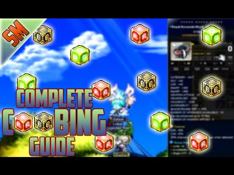 MapleStory Cubing Guide!!