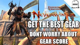 (PS4) Neverwinter Get The Best Gear: Don't Worry About Gear Score!