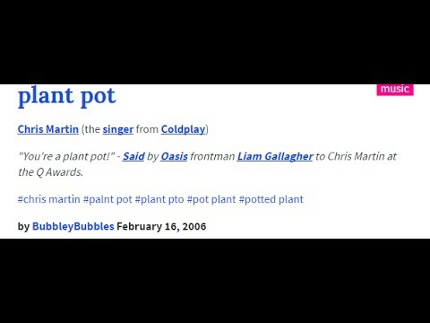 Coldplay Sucks Oasis Dick
