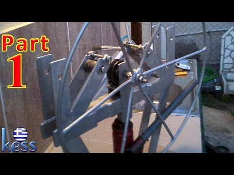 Ring Roller Bender with Hydraulic Assist (DIY) Part 1