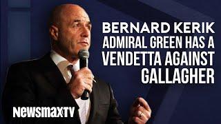Bernard Kerik Says Admiral Green Has a Vendetta Against Eddie Gallagher