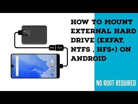 How To Use External Hard Drive (exFAT, NTFS, HFS+) On Android Devices