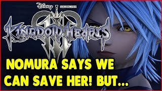 Download Video KINGDOM HEARTS 3 NOMURA SAYS AQUA CAN BE SAVED BUT IT'S BASED ON THE PLAYERS EFFORTS! MP3 3GP MP4