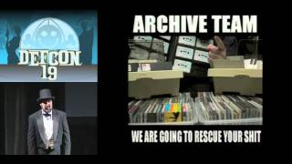 ARCHIVE TEAM: A Distributed Preservation of Service Attack