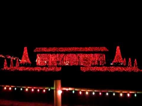 Yukon Ok Christmas Lights.Christmas Lights In Chisholm Trail Park Yukon Oklahoma