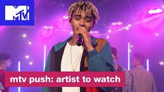 'Redbone' (Childish Gambino Cover) Live Performance by PRETTYMUCH | MTV Push: Artist to Watch