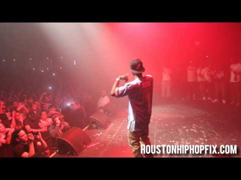 Currensy Live Performance in Houston at Warehouse Live on 4.20