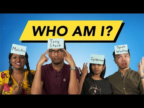 Malaysians Do The Who Am I Challenge (Part 1)