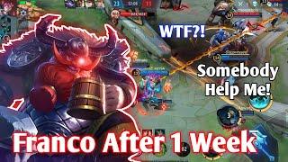 Franco Is Back After 1 Week | Franco Hook Montage 2021 | Mobile Legends