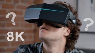 VR с разрешением 8K, что я увидел?