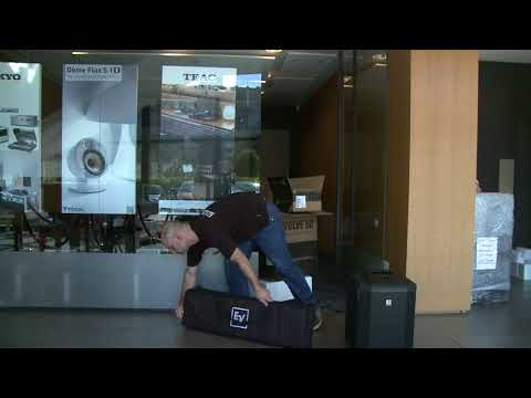 Electro-Voice Evolve 50 unpacking at MusicWorld.bg