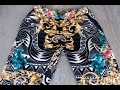 Versace printed gold and flower pants- Felix Fashion Reviews