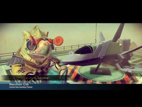 SHIP TIPS And My First 3 Million Credit Ship-No Mans Sky Ps4-