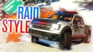 COP CHASES, RAID STYLE!! | The Crew: Calling All Units