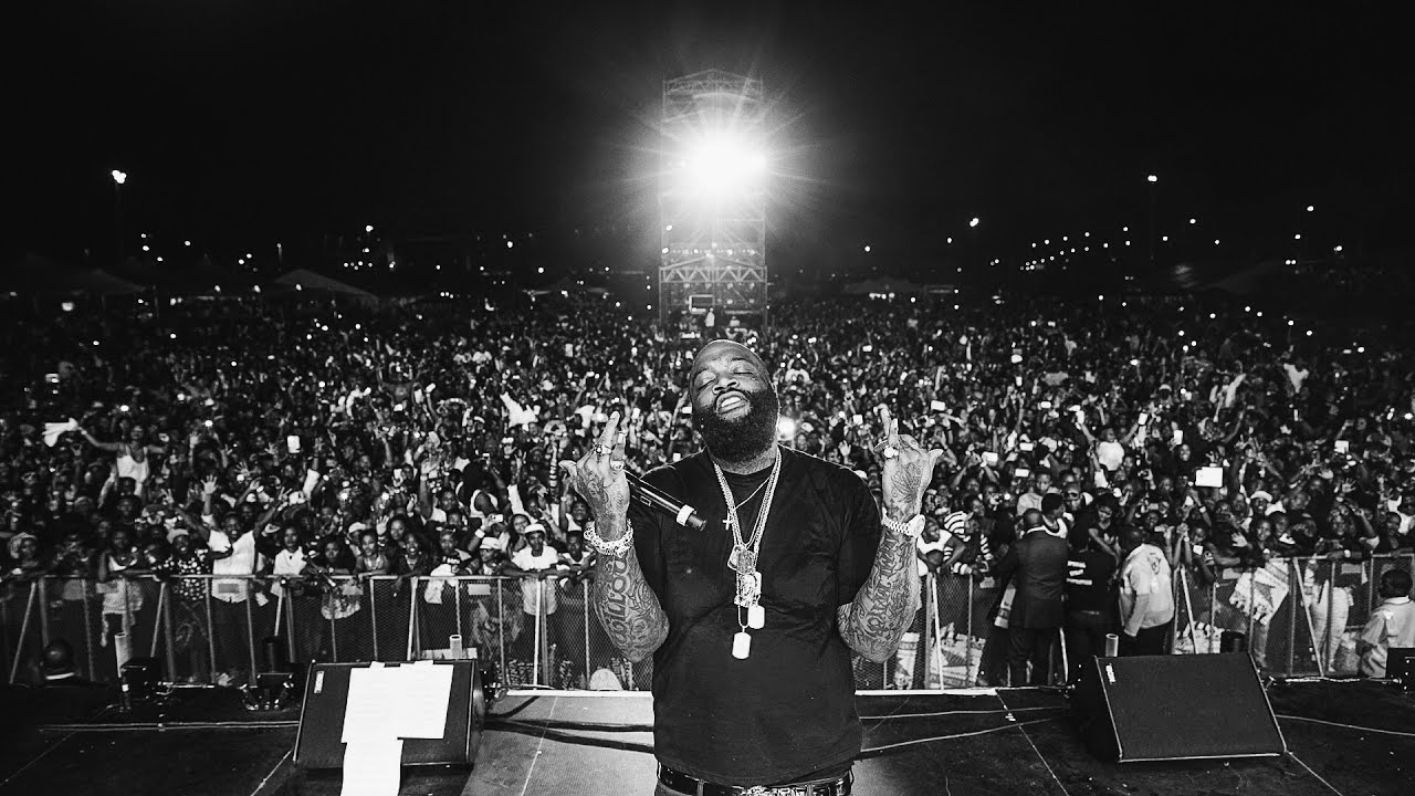 Rick Ross Live In Durban South Africa YouTube