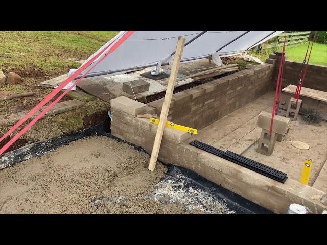 5500 Koi Pond build - Part one!