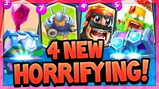 WARNING: You Can't UNSEE these HORRIFYING New Card Concepts in Clash Royale! thumbnail